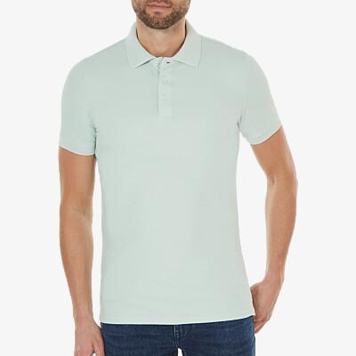 Marbella Slim Fit Poloshirt, Light mint