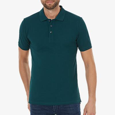 Madrid Poloshirt, Deep green