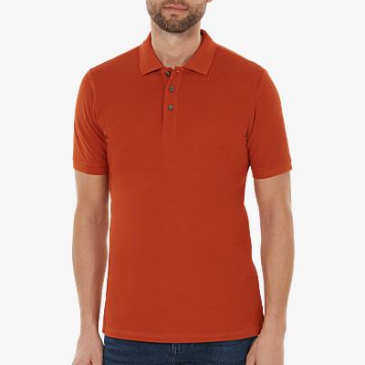 Madrid Poloshirt, Copper