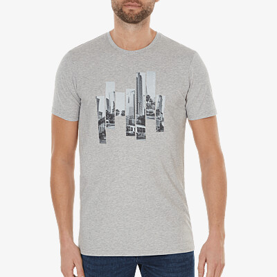 the City - Los Angeles, grey melange