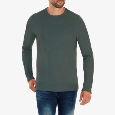 Cambridge Sweater, Metal green