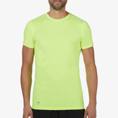 Boston Sportshirt, Fluor Yellow