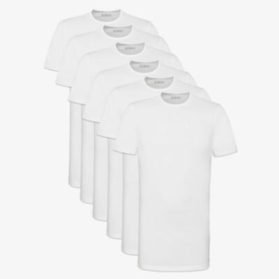 SixPack Bangkok T-shirts, 6-pack White