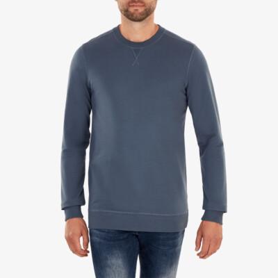 Princeton Lightweight Sweater, Stone blue