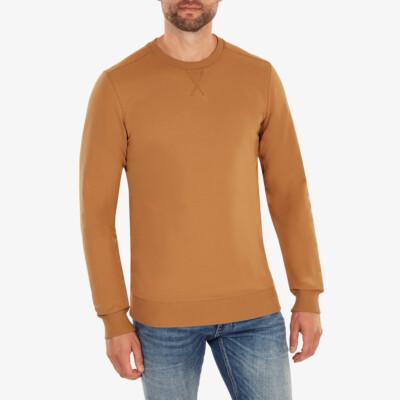 Princeton Lightweight Sweater, Sugar brown