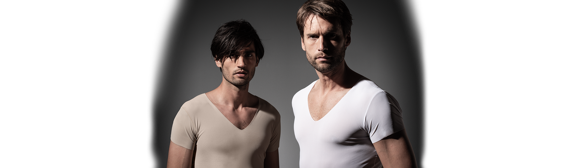 Invisible long men's undershirts for the summertime