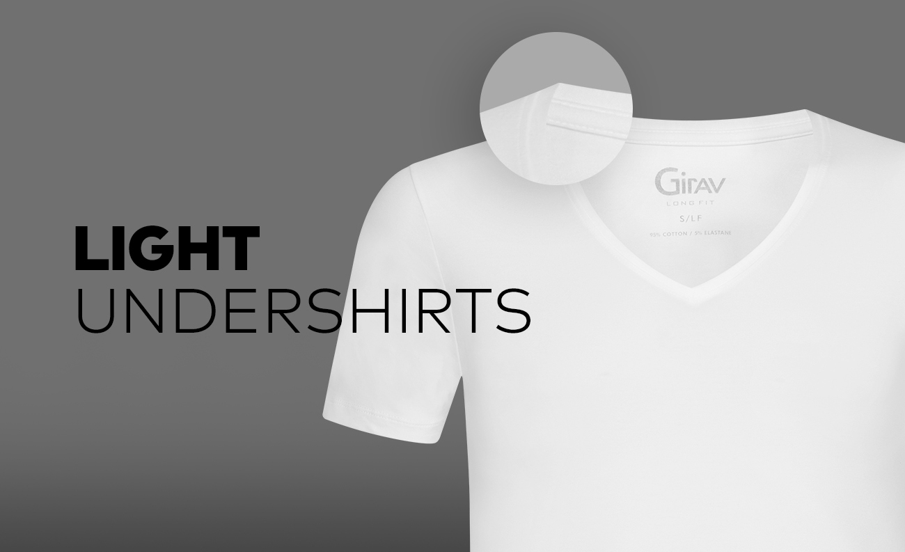 Airy Perth and Brisbane undershirts by Girav – Light T-shirts that keep your body cool